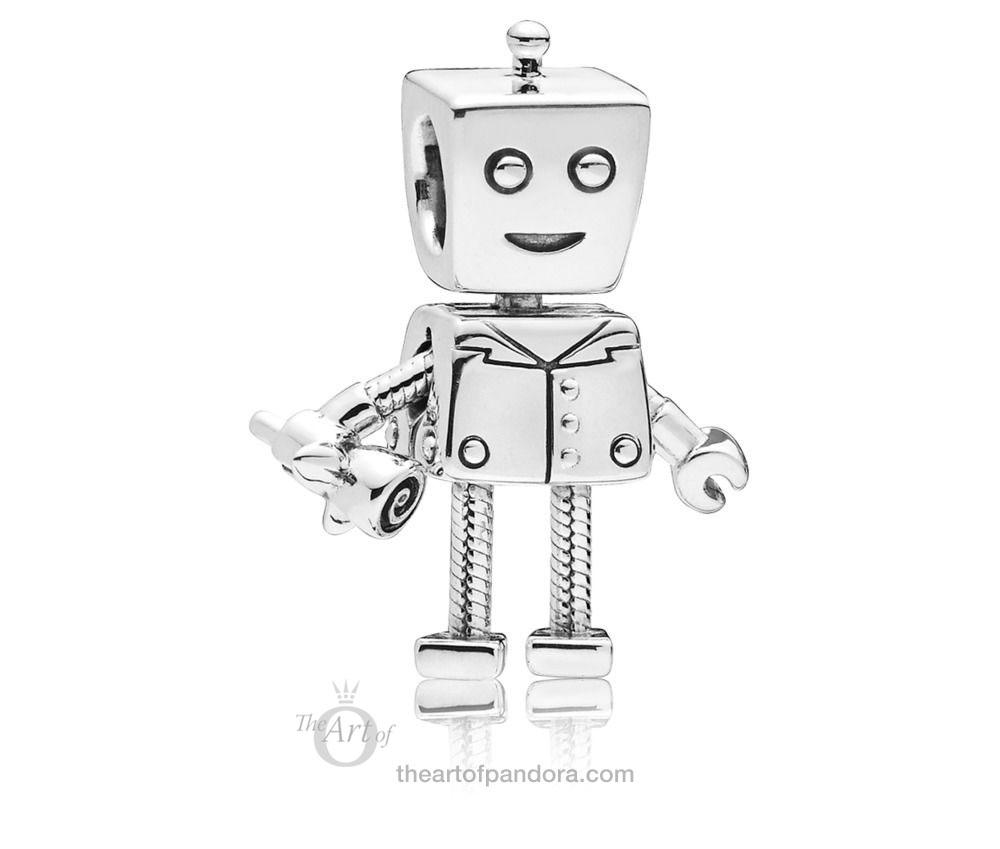 PANDORA Rob Bot 797819 Valentines Day 2019 Bella Bots boyfriend