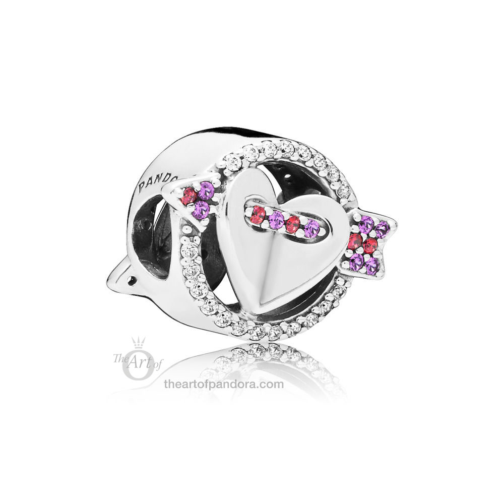 797827CZMX PANDORA Sparkling Arrow and Heart Valentines Day 2019