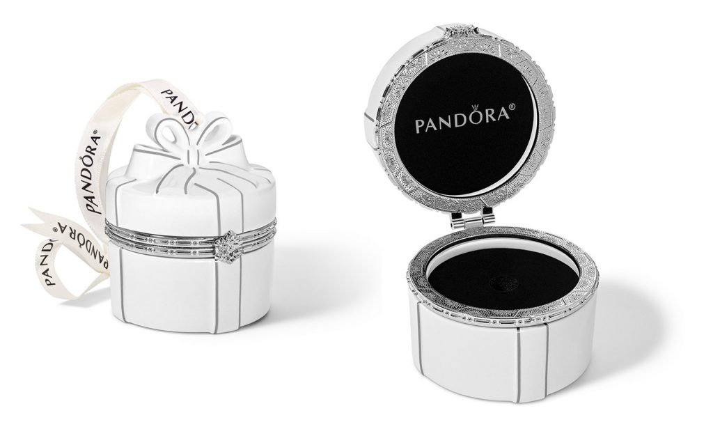 pandora jared exclusive ornament 2018 holiday