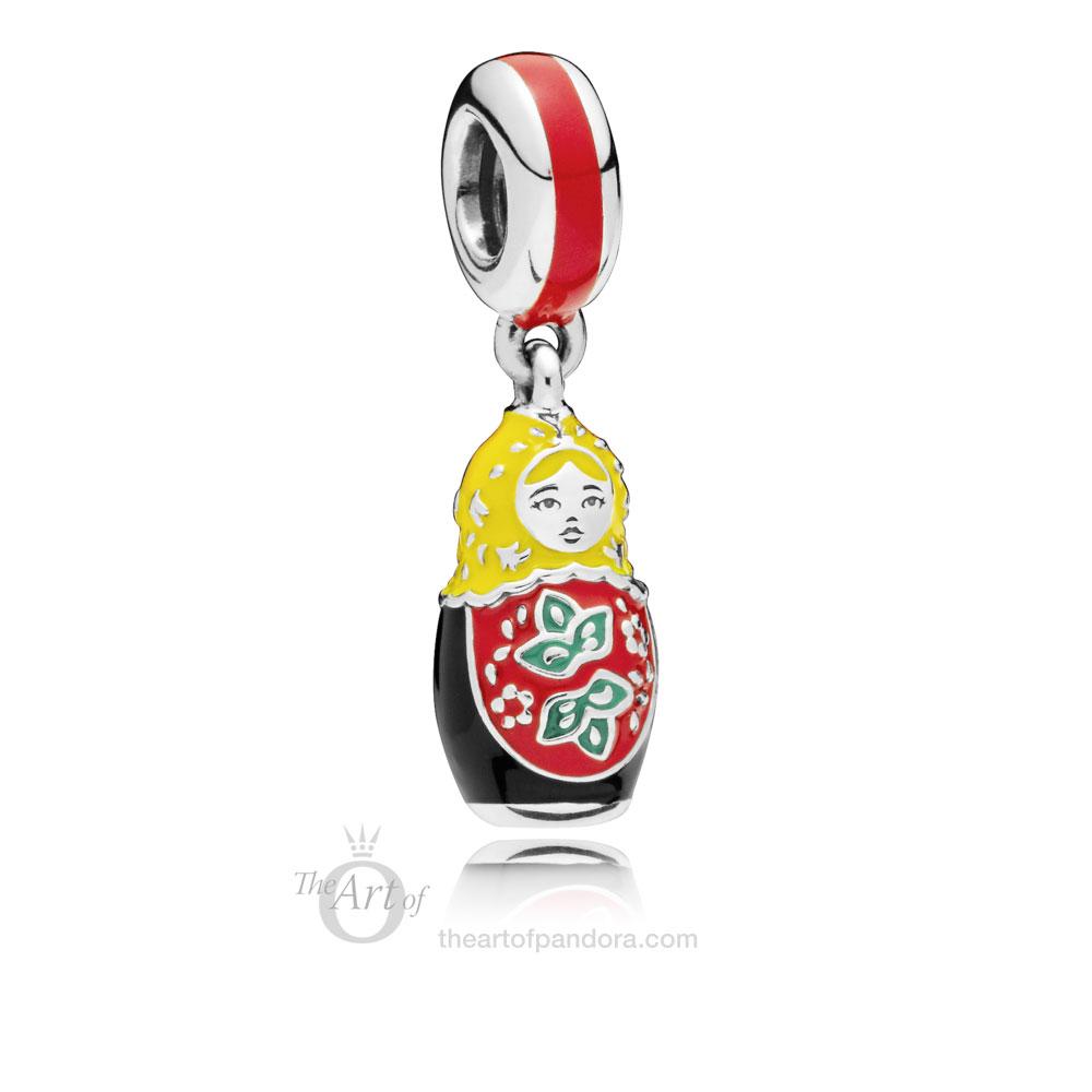 PANDORA Matryoshka Doll Charm   (797834ENMX)