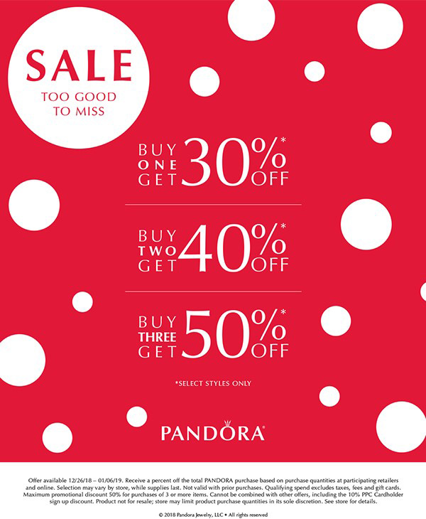 pandora discontinued retired winter 2018 sale half price 50% off blog blogger us uk europe australia free gift gwp promo 2019 valentines