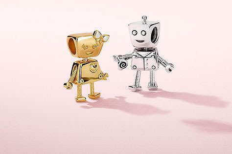 PANDORA Valentines Day 2019 collection Rob Bot Bella Bot