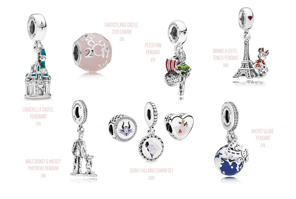 pandora disney parks gift ideas christmas holiday wife girlfriend daughter