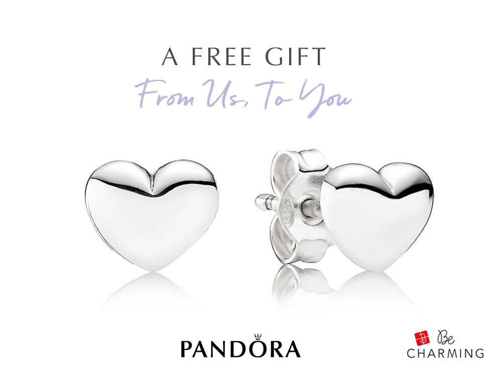 pandora valentines day 2019 promotion free earrings