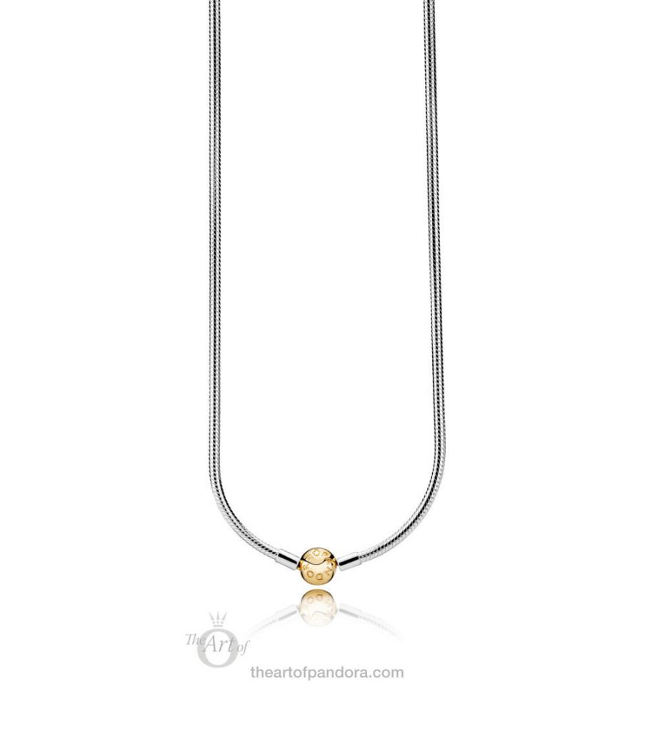 PANDORA Shine Clasp Moments Necklace (368004) Valentines Day 2019
