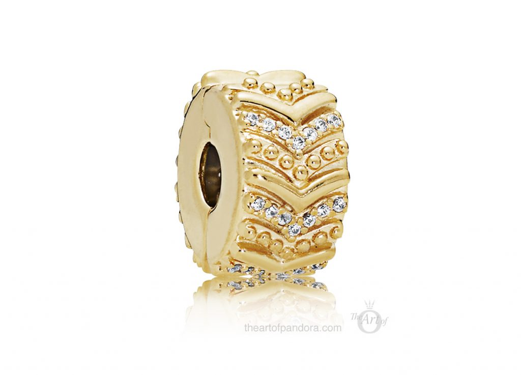 767798CZ PANDORA Shine Stylish Wish Clip PANDORA 2019 Pre Spring collection