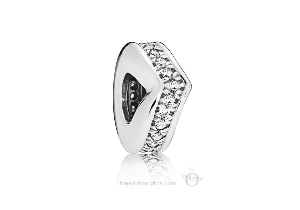 797808CZ PANDORA Shimmering Wish Spacer PANDORA 2019 Pre Spring collection