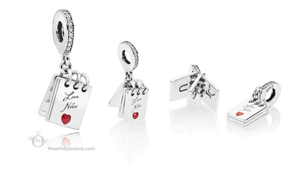 PANDORA Love Notes Charm 797835CZ Valentines 2019