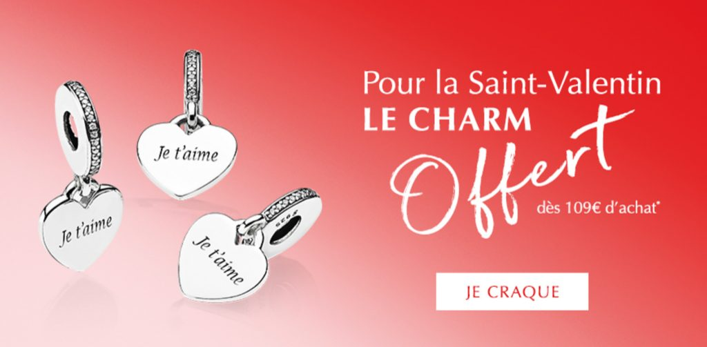 8924dc417 Receive a FREE PANDORA Heart Pendant Charm with a €109 spend on the PANDORA  Valentine's Collection.