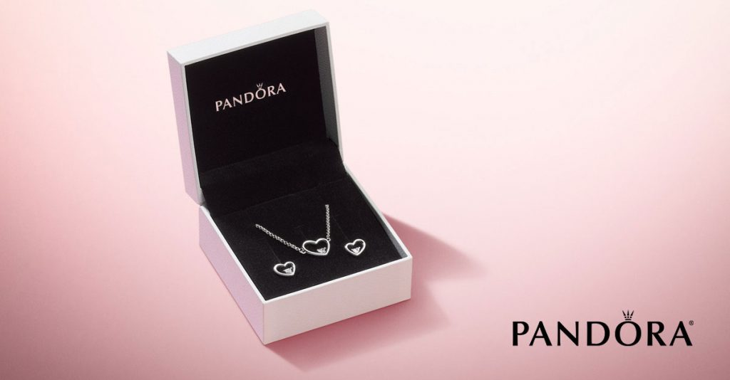 PANDORA Shape of My Heart Gift Set B801111 Valentines Day 2019
