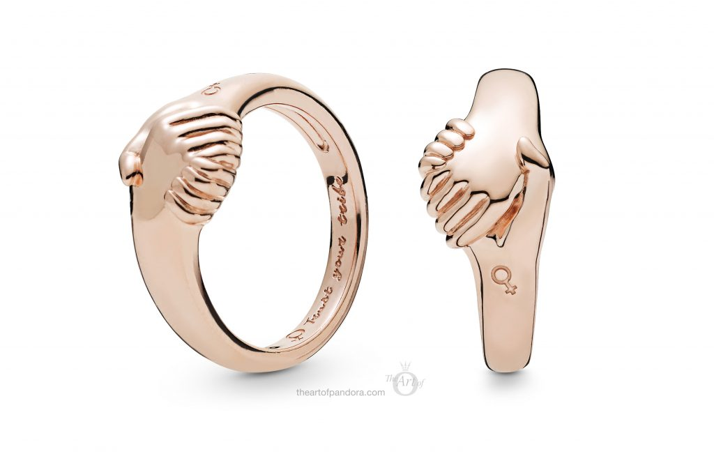 188001 PANDORA Rose Female Empowerment Ring Spring 2019