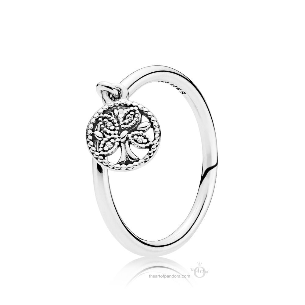 PANDORA TREE OF LIFE RING (197782CZ)