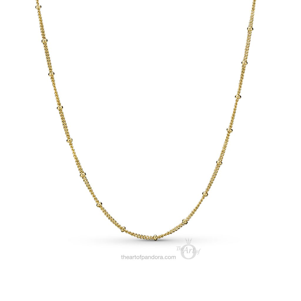 367210 PANDORA Shine Beaded Necklace Spring 2019