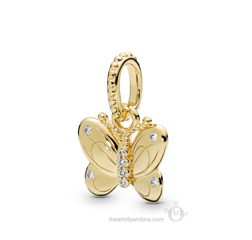 PANDORA Shine Decorative Butterfly Pendant (367962CZ) Spring 2019