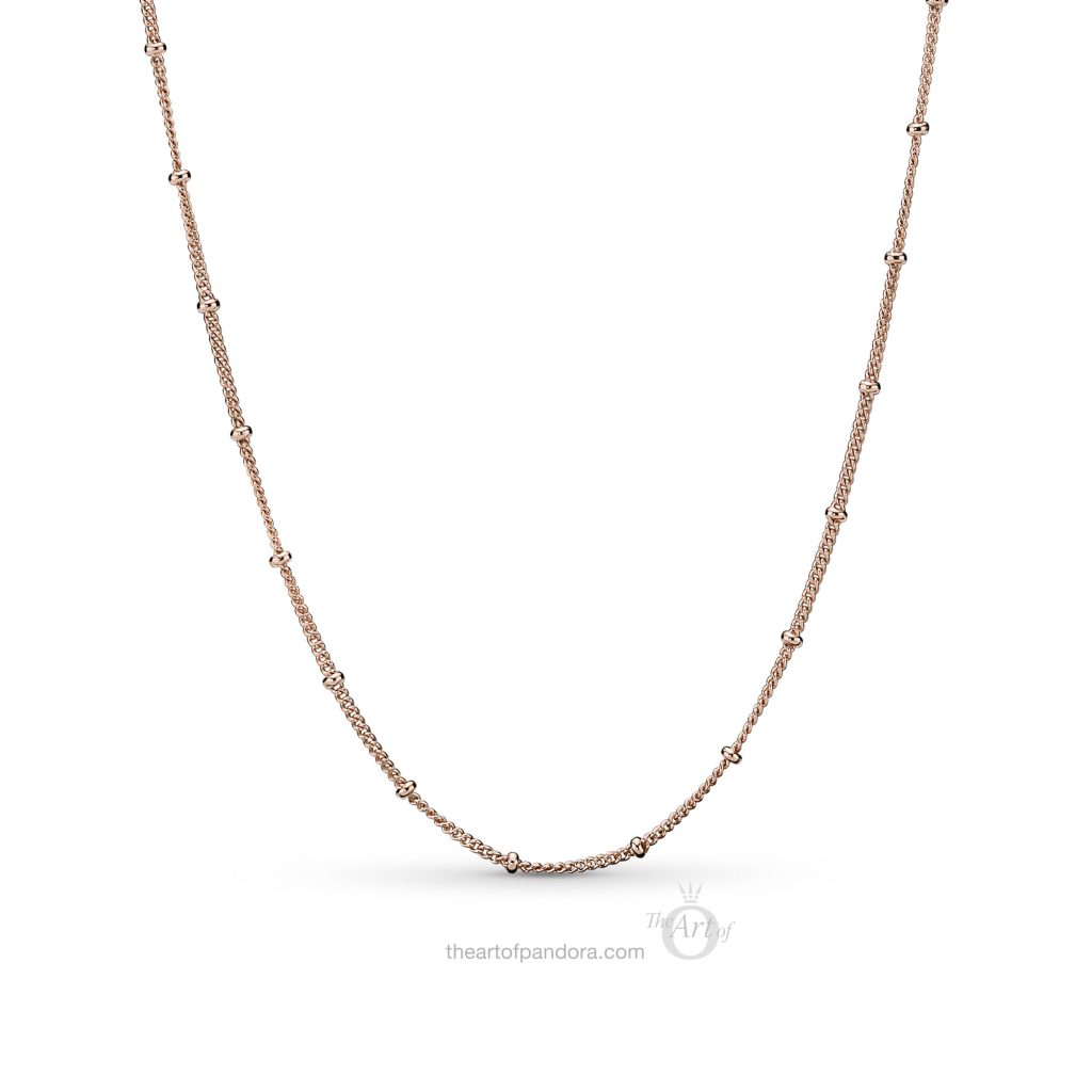 PANDORA Rose Beaded Necklace (387210) Spring 2019