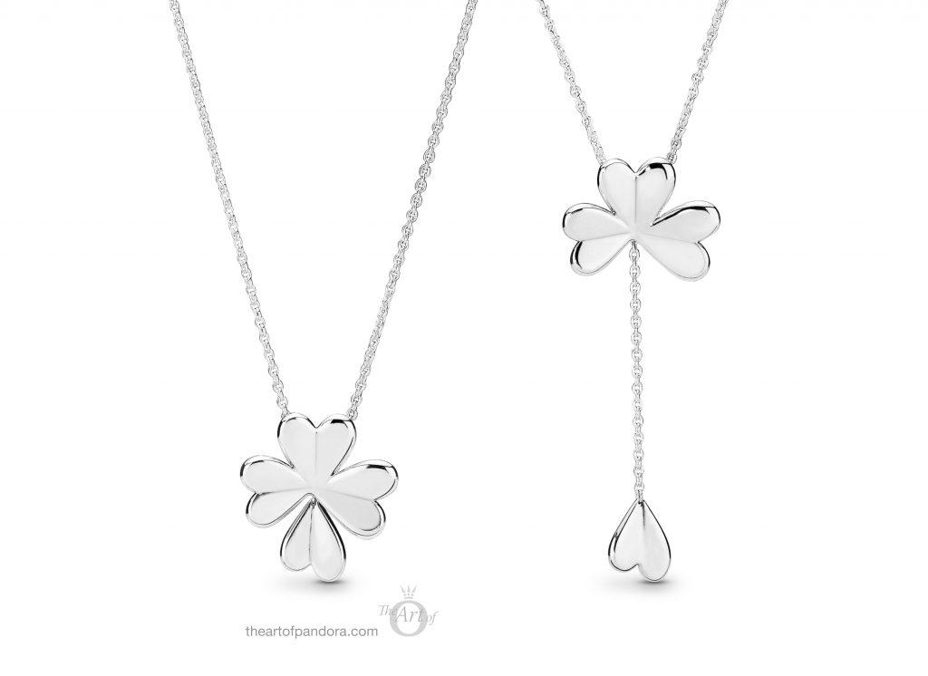 f169a50e4 PANDORA Lucky Four Leaf Clover Necklace (397925) $90 USD / £70 / €79 / $99  AUD / $100 CAD