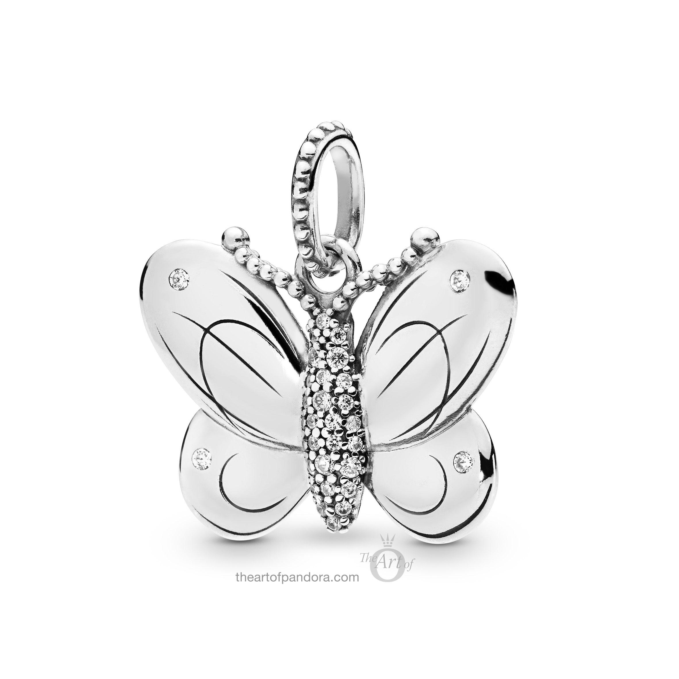 397933cz Pandora Decorative Butterfly Pendant The Art Of Pandora