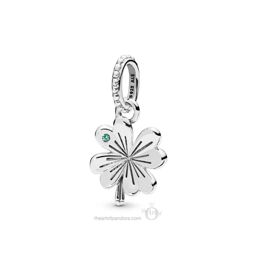PANDORA Lucky Four Leaf Clover Pendant (397965NAG) Spring 2019