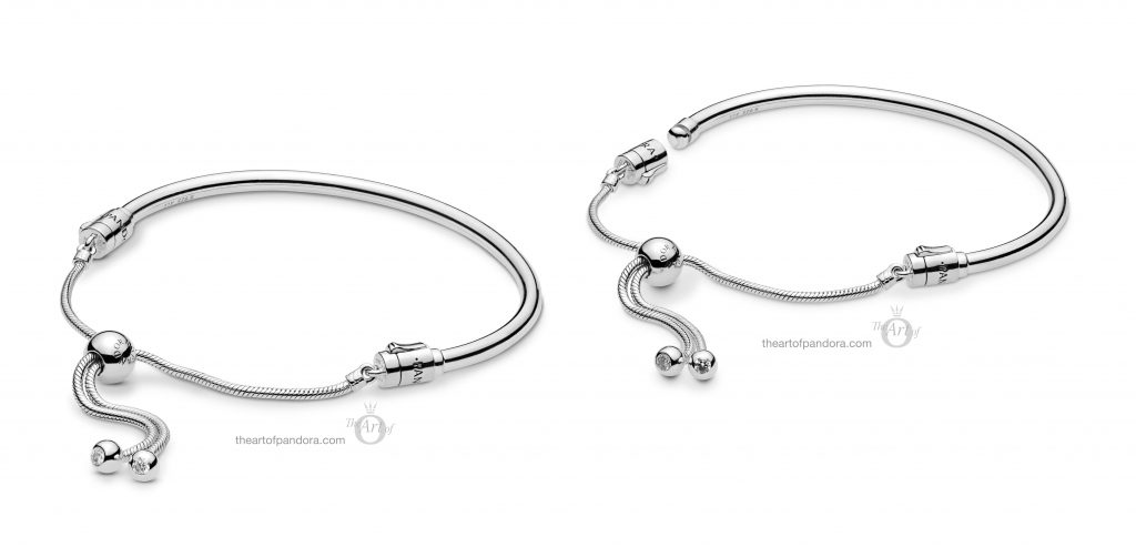 597953CZ PANDORA Sliding Bangle Bracelet Spring 2019