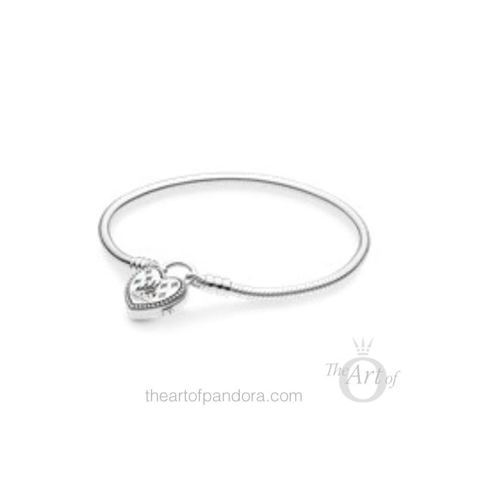 597993PCZMX PANDORA Disney Padlock Bracelet Spring 2019