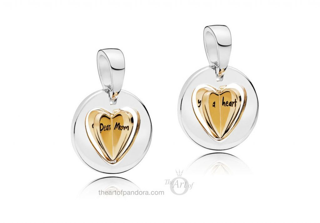 PANDORA mothers day 2019 PANDORA MUM'S GOLDEN HEART PENDANT CHARM (767774)