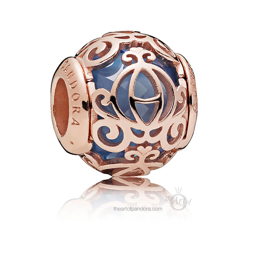 787773NFBL Disney PANDORA Rose Cinderella Pumpkin Coach National Polka Dot day 2019 rock the dots