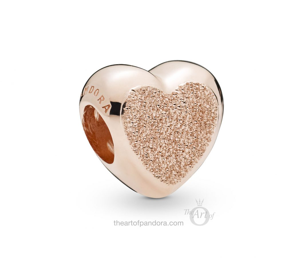 787881 PANDORA Rose Diamond Pointed Heart Charm Spring 2019