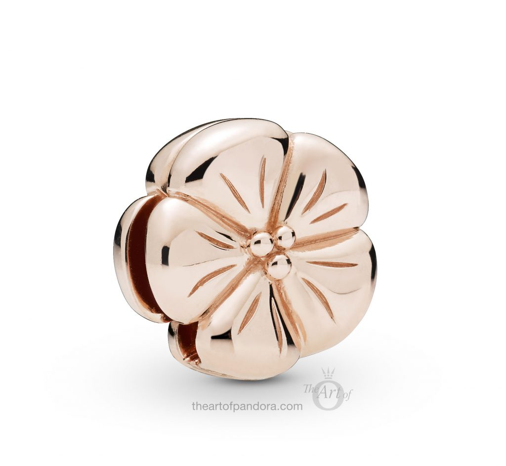 787897 PANDORA Rose Reflexions Flower Clip Spring 2019