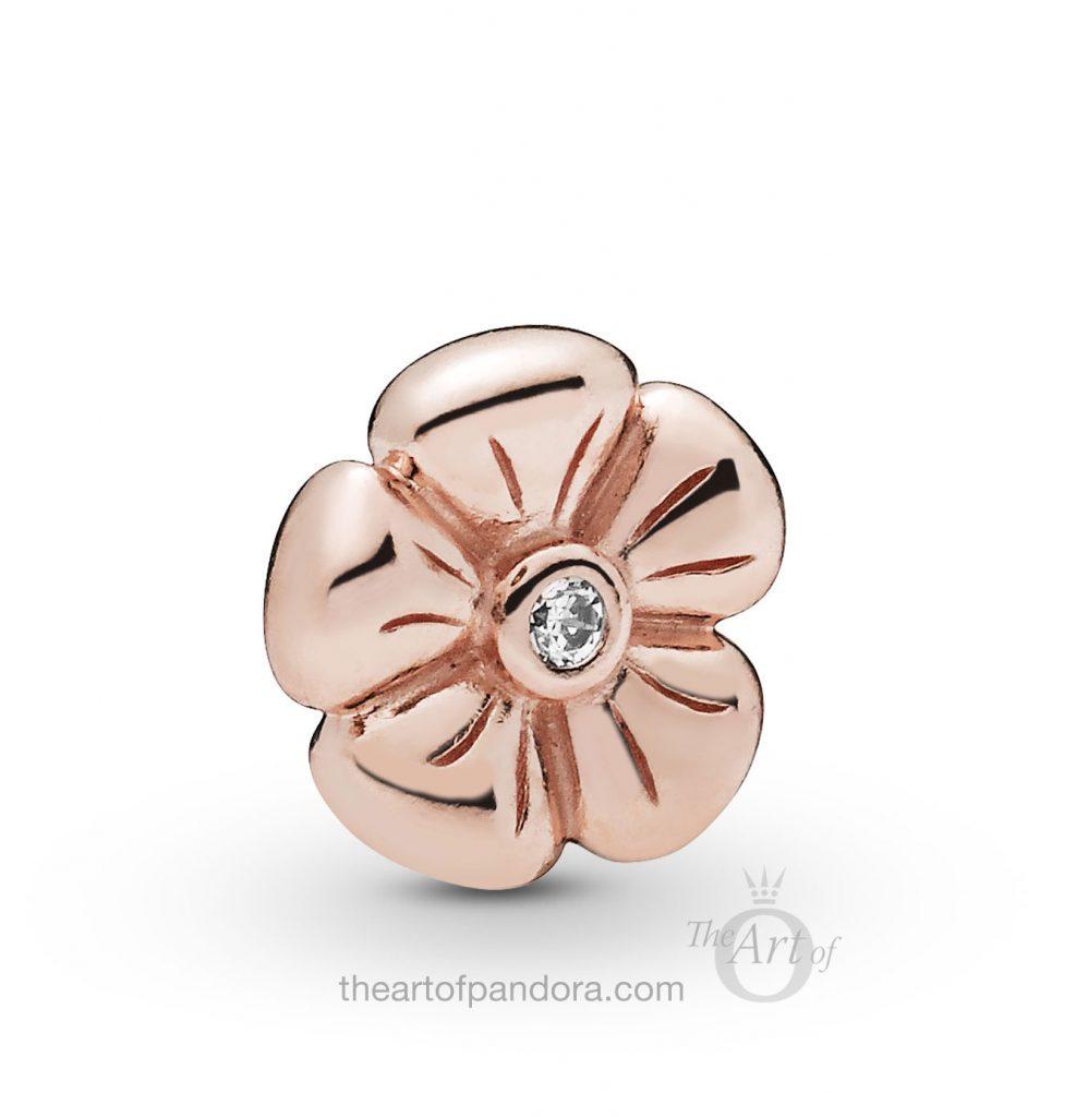787898CZ PANDORA Rose Flower Petite Spring 2019