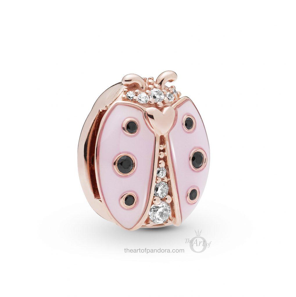 787970EN160 PANDORA Rose Reflexions Ladybird Clip Spring 2019