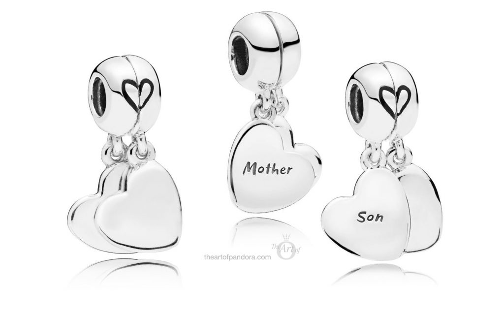 PANDORA MOTHER & SON LOVE PENDANT CHARM (797777EN16) MOTHERS DAY 2019