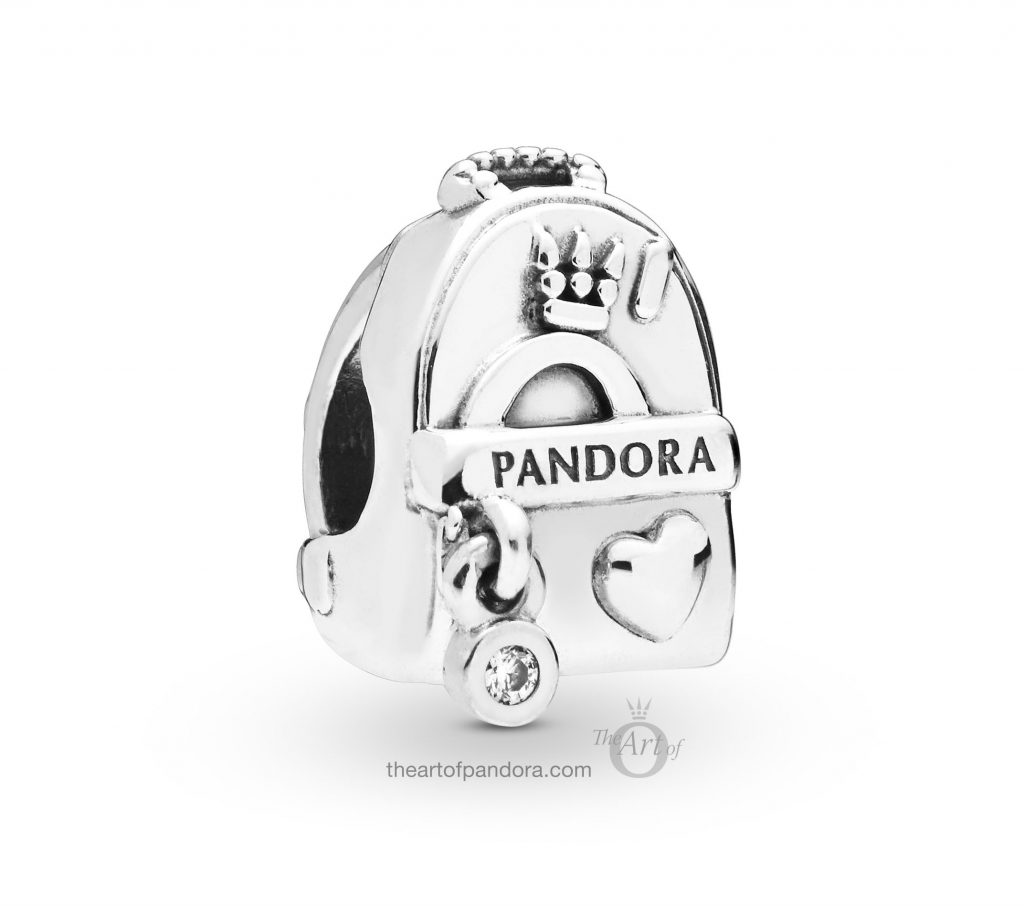 PANDORA Adventure Bag Charm (797859CZ) Spring 2019
