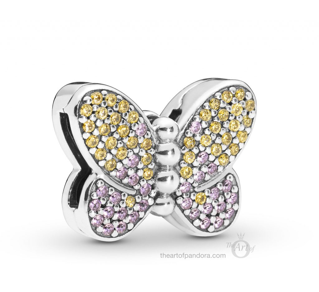 797864CZM PANDORA Reflexions Butterfly Clip Spring 2019