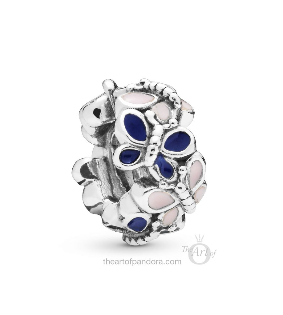 PANDORA Butterfly Arrangement Spacer (797870ENMX) Spring 2019