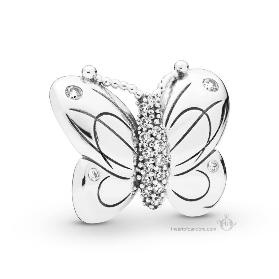 PANDORA Decorative Butterfly Charm (797880CZ) Spring 2019