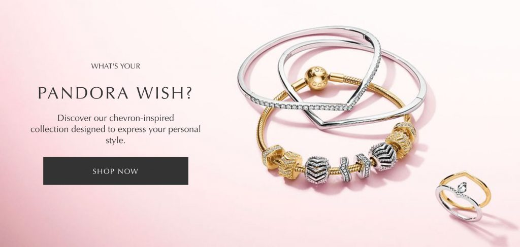 pandora pre spring wish collection 2019