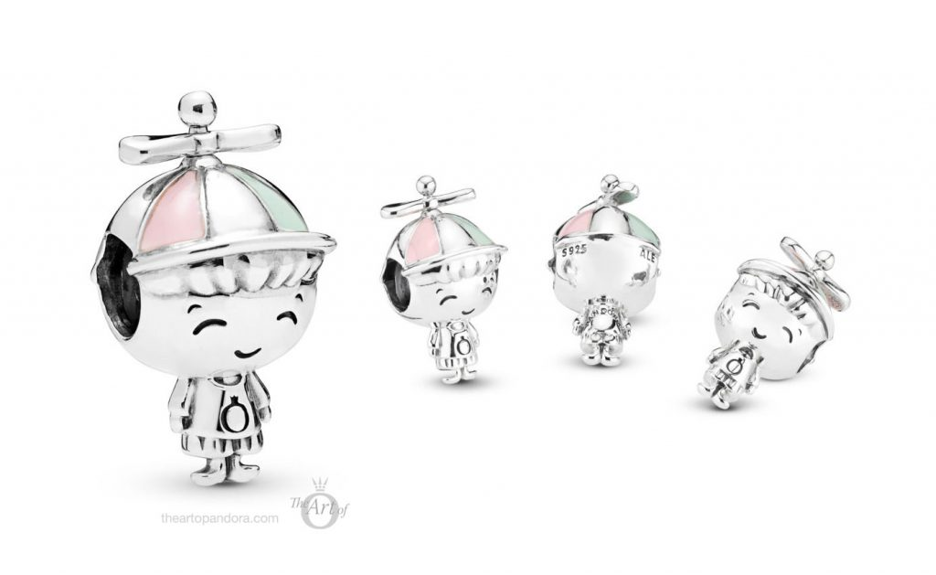 PANDORA PROPELLER HAT BOY CHARM (798015ENMX) MOTHERS DAYS 2019 COLLECTION