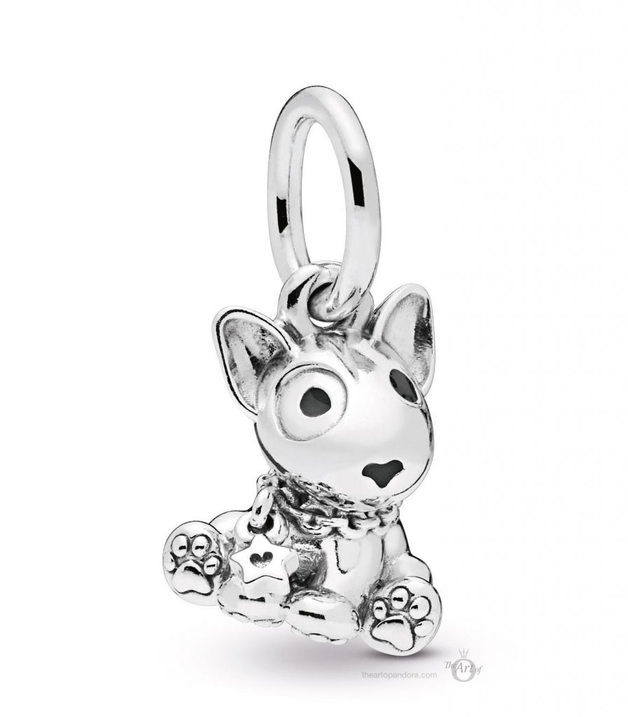 PANDORA-798010EN16 Bull Terrier Dog Pendant mothers day 2019