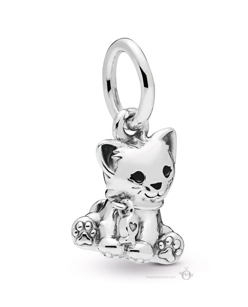 PANDORA 798011EN16 Cat Dangle Charm mothers day 2019
