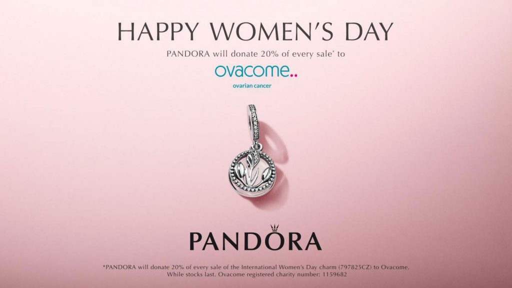 Pandora Ovacome Charity Partnership The Art Of Pandora More Than Just A Pandora Blog