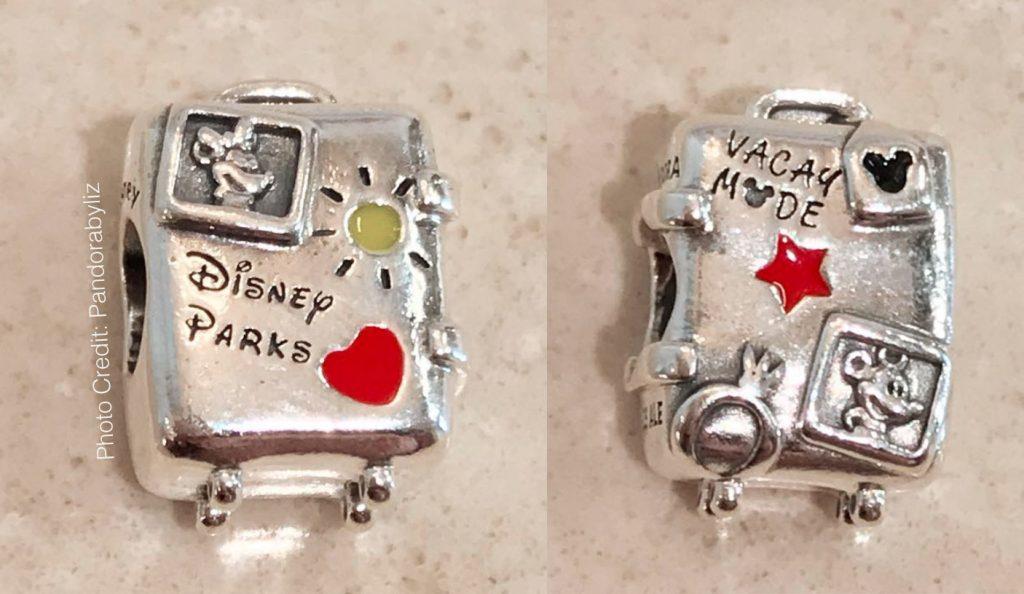 pandora disney parks suitcase charm