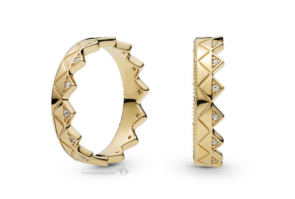 PANDORA Shine Crown Ring (168033CZ) PANDORA Summer 2019