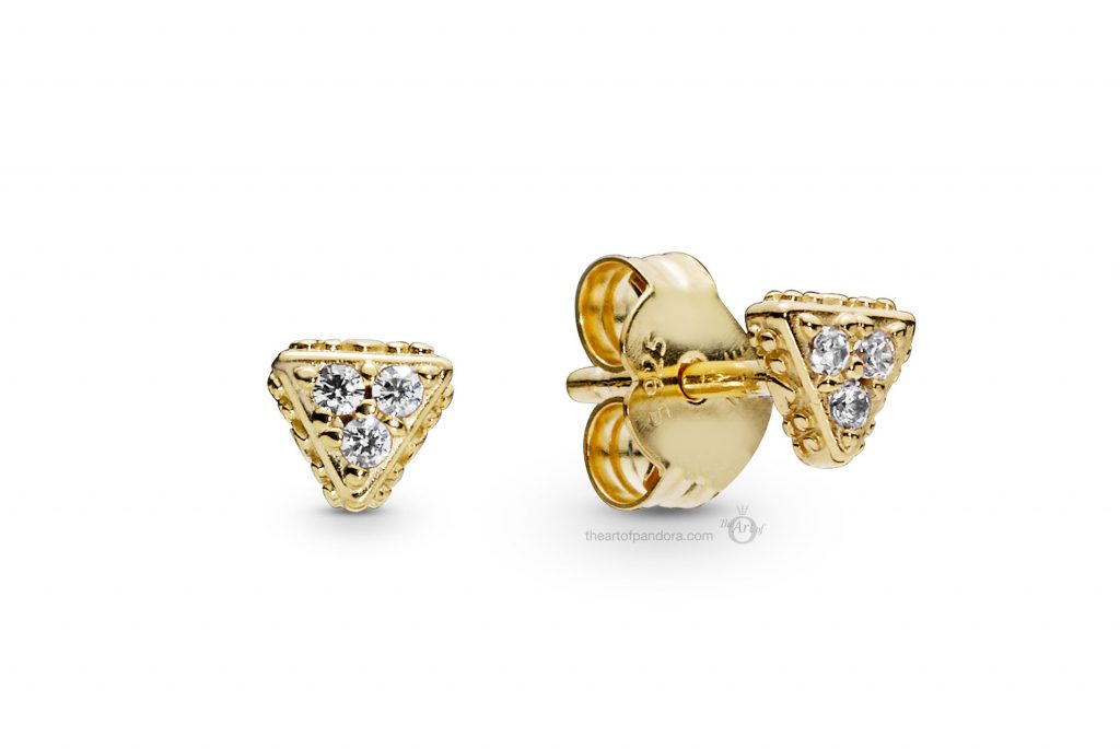 PANDORA Shine Stud Earrings (268030CZ) PANDORA Summer 2019