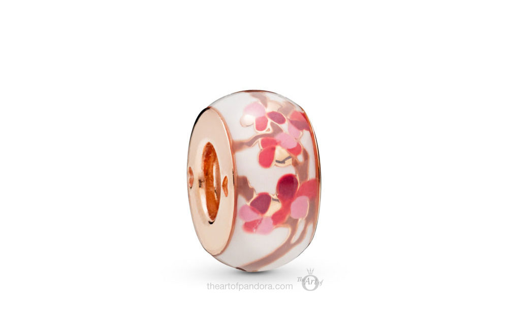 PANDORA Rose Peach Blossom Flower Spacer  (788111ENMX)