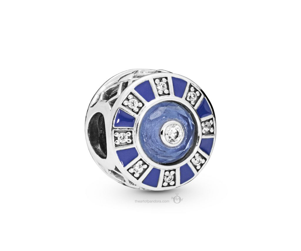 PANDORA Summer 2019 PANDORA Moonlight Blue Charm (798031EN195)
