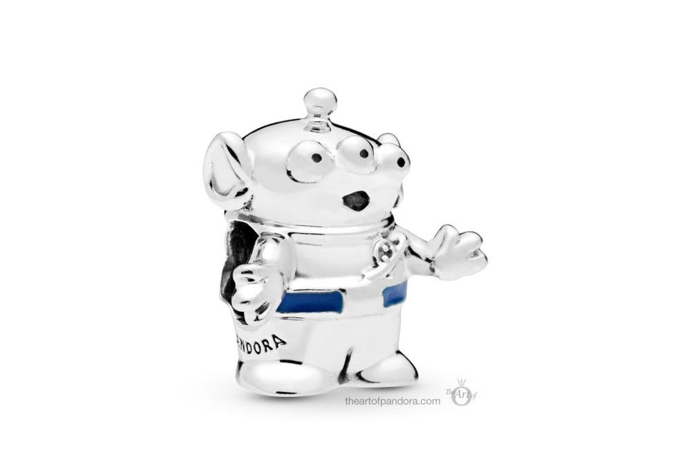 798045EN82 PANDORA Disney Pixar Toy Story Alien Charm