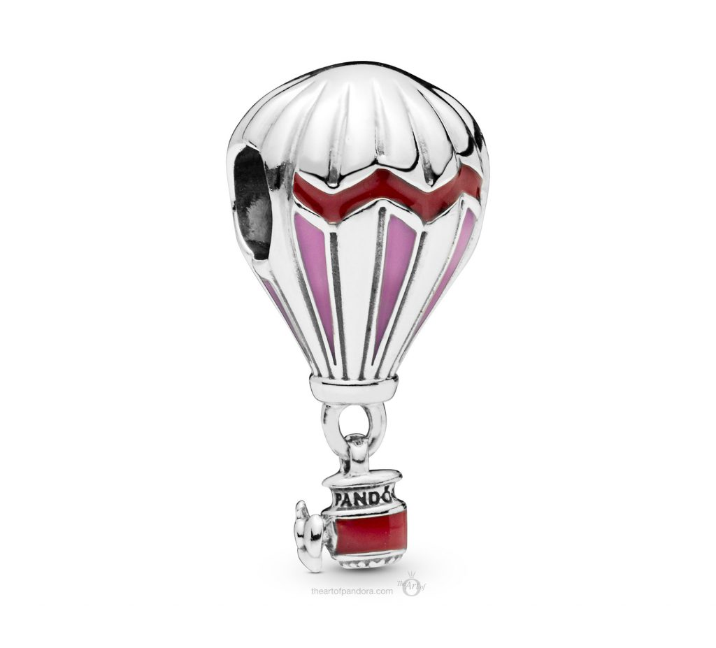 PANDORA Summer 2019 PANDORA Air Balloon Charm (798055ENMX)