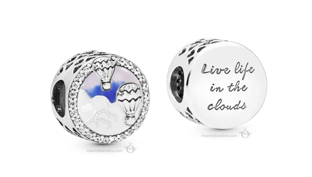 PANDORA Summer 2019 PANDORA Air Balloons Button Charm (798061CZ)