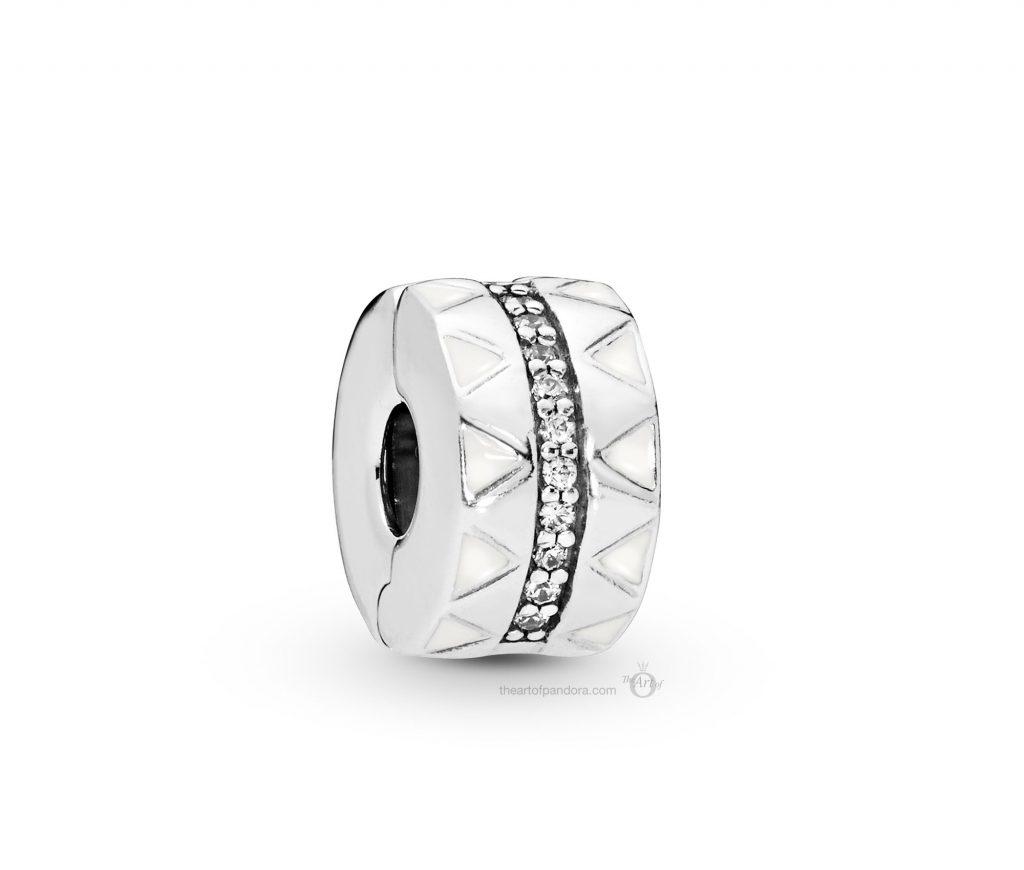 PANDORA Silver Clip (798067CZ) PANDORA Summer 2019