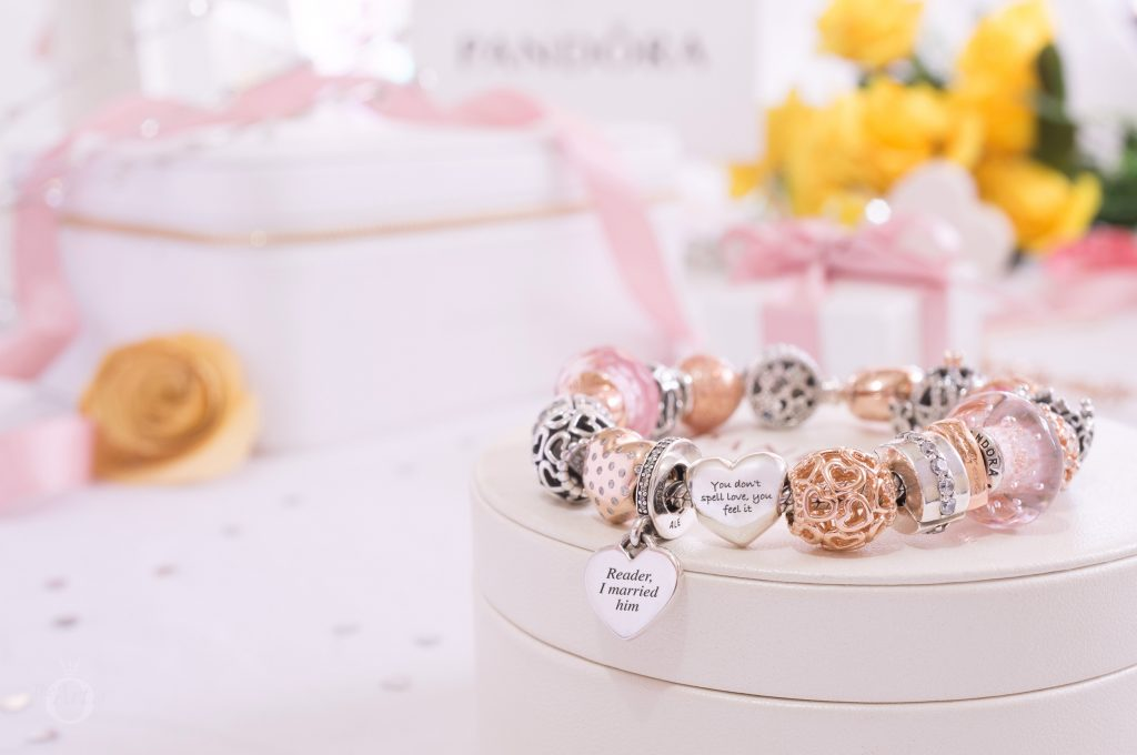 pandora engraved charms